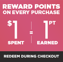 Earn Rewards Points With Every Purchase